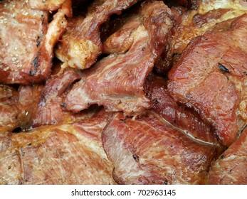 Pork tenderloin in thailand market