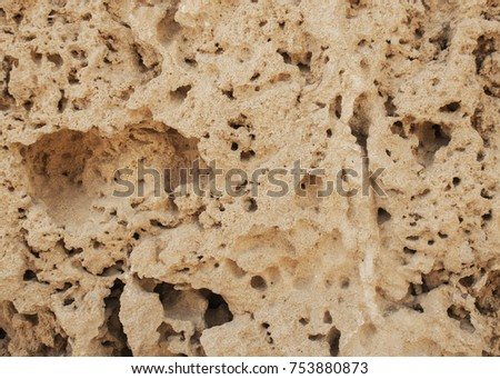 porous surface ancient wall stock photo edit now 753880873