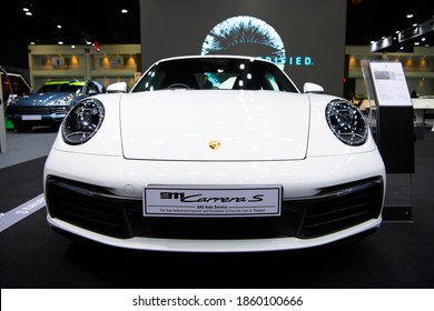 Porsche 911 Carrera S car on display at THE 41st BANGKOK INTERNATIONAL MOTOR SHOW 2020 on July 14, 2020 in Nonthaburi, Thailand.
