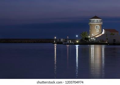 Port of Almerimar-Almeria