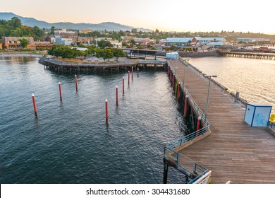 Port Angeles City Pier view.