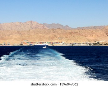 The Port of Aqaba, the only port in Jordan, Jordan's only container port, and the second-busiest facility on the Red Sea by container volume. It is the primary gateway for the Jordanian market.