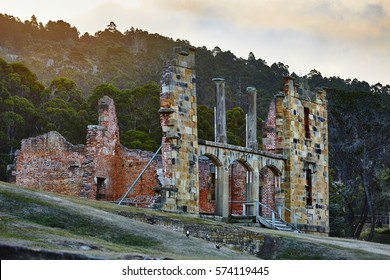 Port Arthur, historic convict settlement ruins