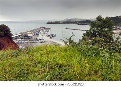 Port of Candas. Asturias. Spain.