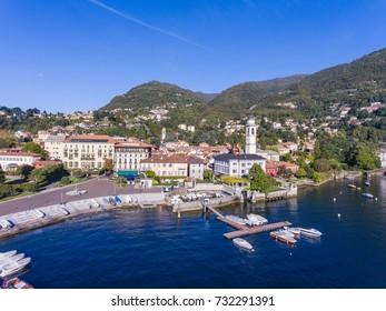 Port of Cernobbio, famous destination on Como lake