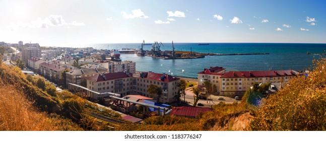 The port city of Kholmsk in the South of Sakhalin.