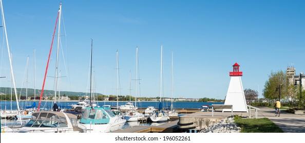 Port of Collingwood in Ontario