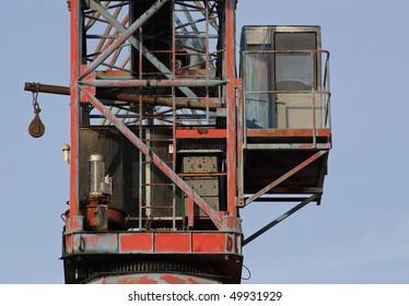 port crane cabin
