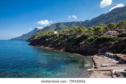 Port des Canonge in Majorca (Balearic Islands, Spain)
