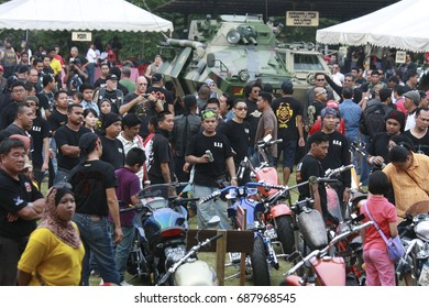 PORT DICKSON, MALAYSIA 08 OCTOBER 2013: PD International Bike Week program as a tourist attraction Visit Malaysia Year not only from motorists but also local and international motoring fans