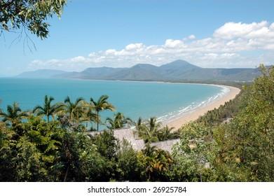 Port Douglas beach and coastline, Queensland, Australia