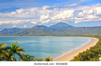 Port Douglas North Queensland Australia on a beautiful sunny day