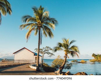 Port Douglas, QLD, Australia - Oct 25, 2017: ocean view