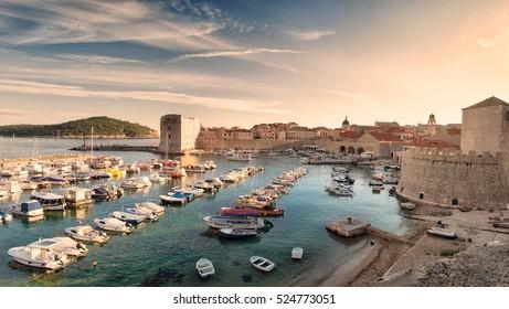 Port of Dubrovnik, Croatia
