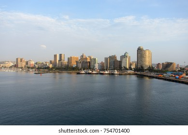Port Durban view from sea