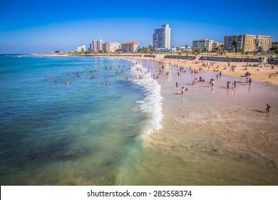 Port Elizabeth, South Africa - 18 JANUARY 2015, Look on the beach