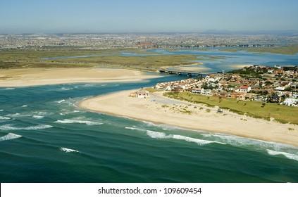 Port Elizabeth, South Africa - Aerial Shot