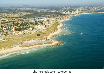 Port Elizabeth, South Africa - Aerial Shot