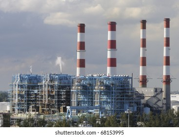Port Everglades power plant in South Florida