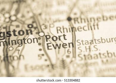 Port Ewen. New York. USA