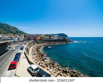 Port, Forio, Ischia island, Naples, Gulf of Naples, Campania, Italy