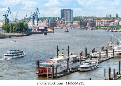 Port of Hamburg, Elbe river