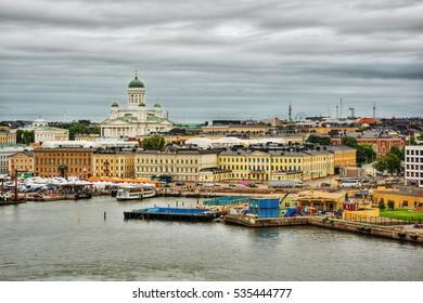 Port of Helsinki (Finland), HDR-technique