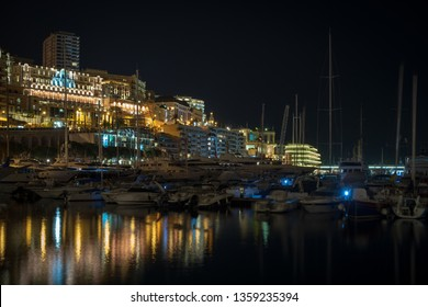 Port Hercules in Principality of Monaco
