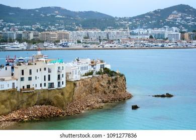 Port of Ibiza Island. Balearic Islands, Spain