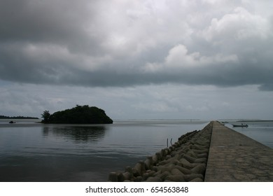 Port in Iriomote Island