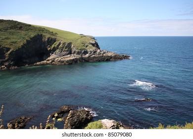 Port Isaac bay Cornwall