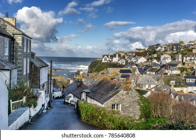 Port Issac in Cornwall on the coast of south west England