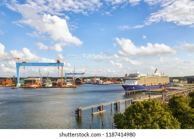 Port of Kiel, Germany
