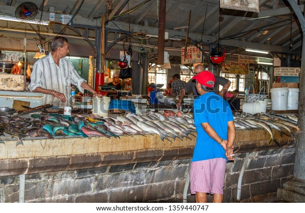 Port Louis Mauritius 03052017 Local People Stock Photo (Edit Now