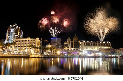 Port Louis Mauritius night photography