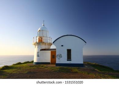 Port Macquarie Lighthouse at sunrise