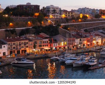 port Mahon, Menorca by night