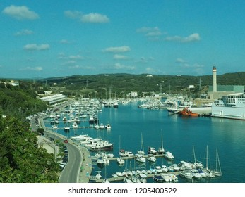 port of Mahon, Natur port