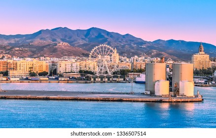 Port of Malaga, Spain