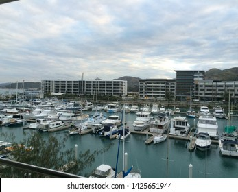 Port Moresby / Papua New Guinea - June 1 2015: View of Yacht Club Marina