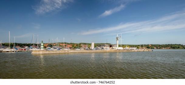 Port  Nida in summer