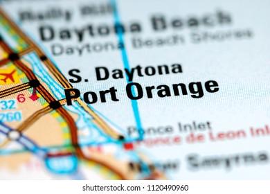 Florida Map Cities Stock Photos Images Photography Shutterstock