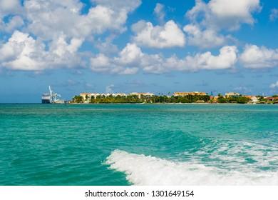 Port of Oranjestad, Oranjestad, Aruba, Lesser Antilles, Central America