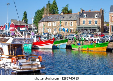 The port of paimpol, Brittany, France