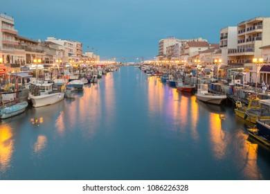 Port of Palavas Les Flots - France