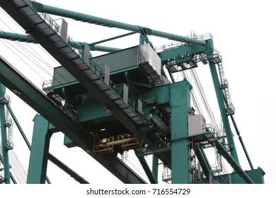 Port quay crane