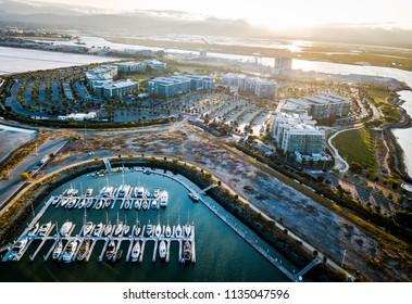 Port of Redwood City in California