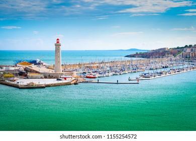 Port of Sete, Montpellier, France