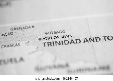 Port of Spain. Trinidad and Tobago