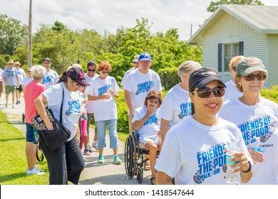 Port St. Lucie, Florida; USA; Sept. 30, 2017.  This Charity walk and run is held by the catholic church community of St Vincent de Paul. The charity is aimed to bring awareness and donations.